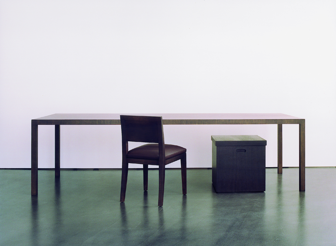 Parsons table en orix chair by borja veciana u2013 veciana meubelen en